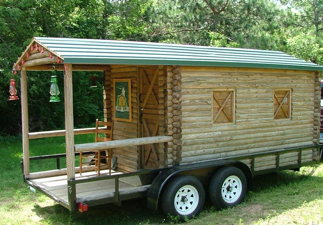 Home built trailers google search custom trailers for Small homes built on trailers