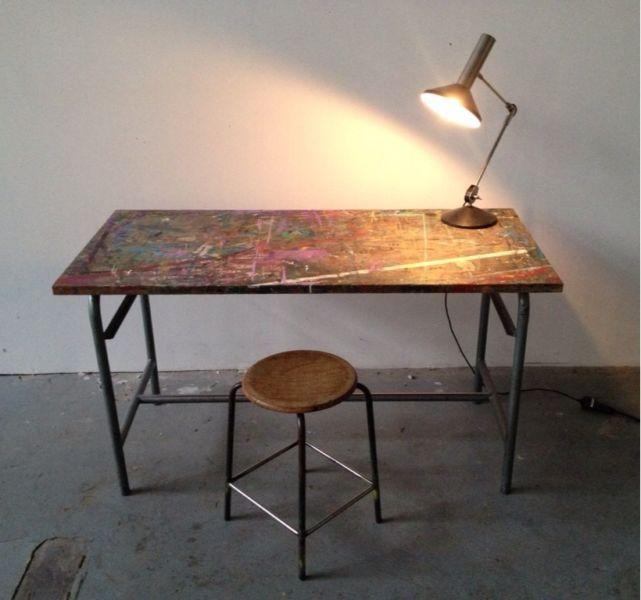 Tisch 60er Loft Kunsttisch In Essen Steele Couchtisch