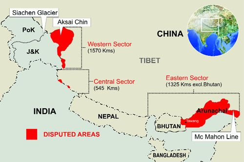 THEN AND NOW: The war we lost-INDIA VS CHINA 1962 | Maps