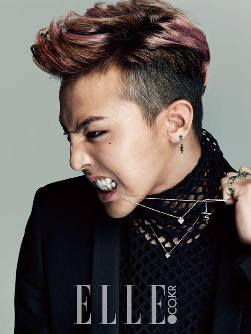 Fashion ID Elle Korea Feat G Dragon
