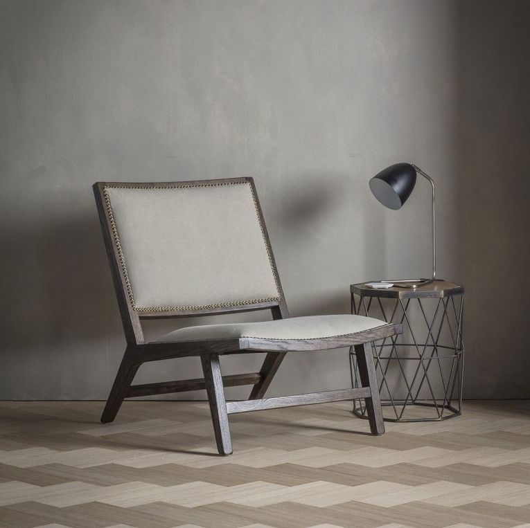 Gallery Direct Carnaby Fabric Chair Stone Washed Chair Fabric