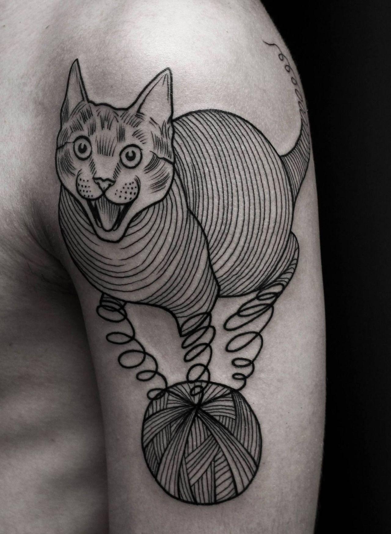 Skin deep tales roman broslavskiy cat tattoos pinterest