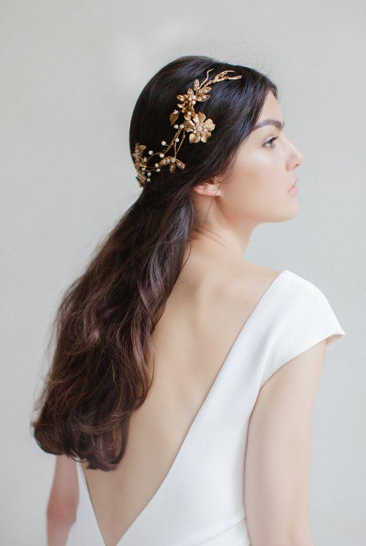 Nature Inspired Couture Bridal Headpieces Ideas Braut Kopfbedeckung Kopfschmuck Hochzeit Braut