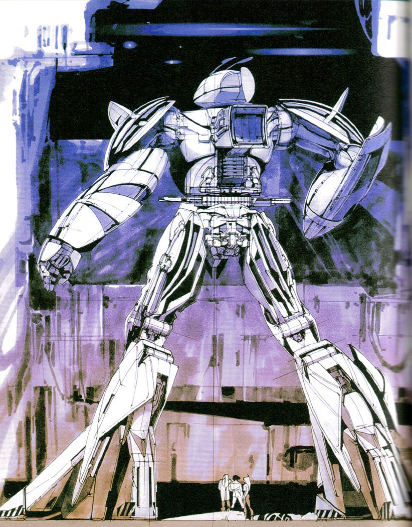 GUNDAM designs by Syd Mead. | Syd mead, Gundam art, Art