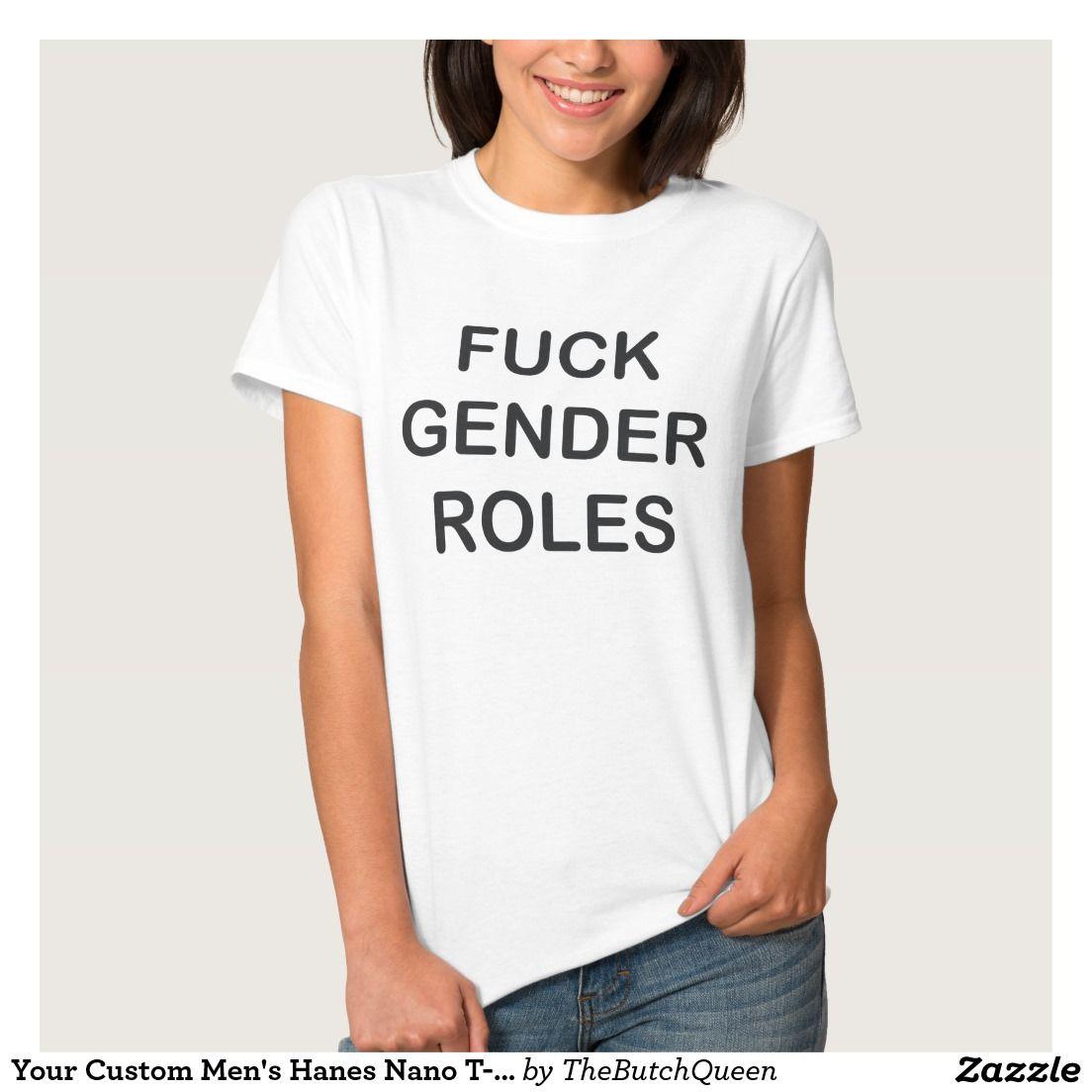 Design your own t-shirt hanes - Your Custom Men S Hanes Nano T Shirt