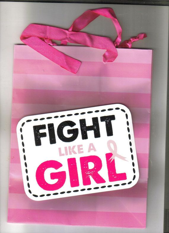Gift bags breast cancer