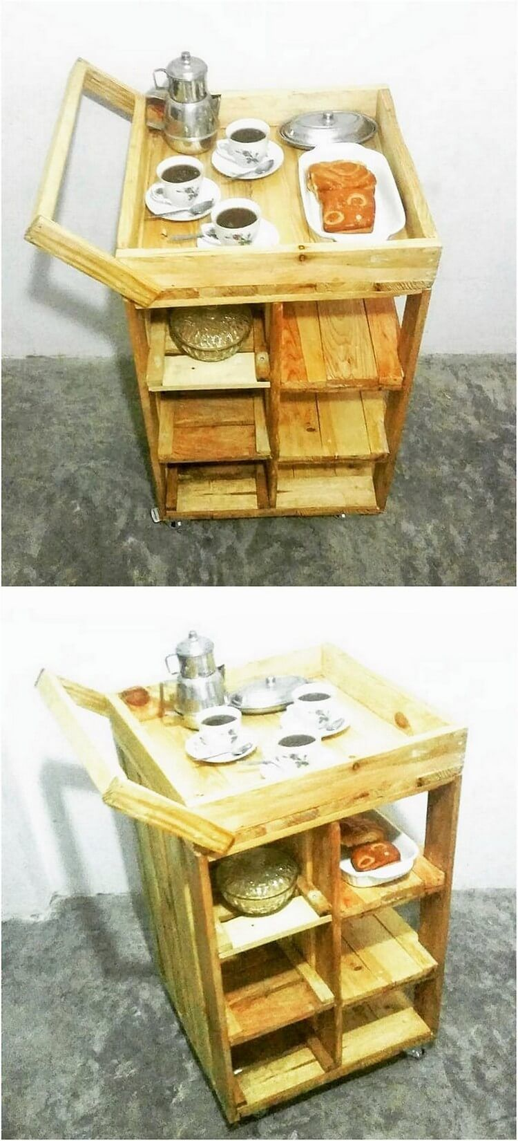 There Would Be No Such Wood Pallet That Would Not Be Utilized In The Creation Of The Coffee Table De Wood Pallets Pallet Furniture Outdoor Wood Pallet Projects