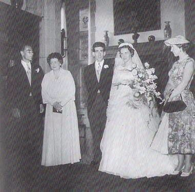 Abdrej and Christina Margarethe of Hesse in 1956