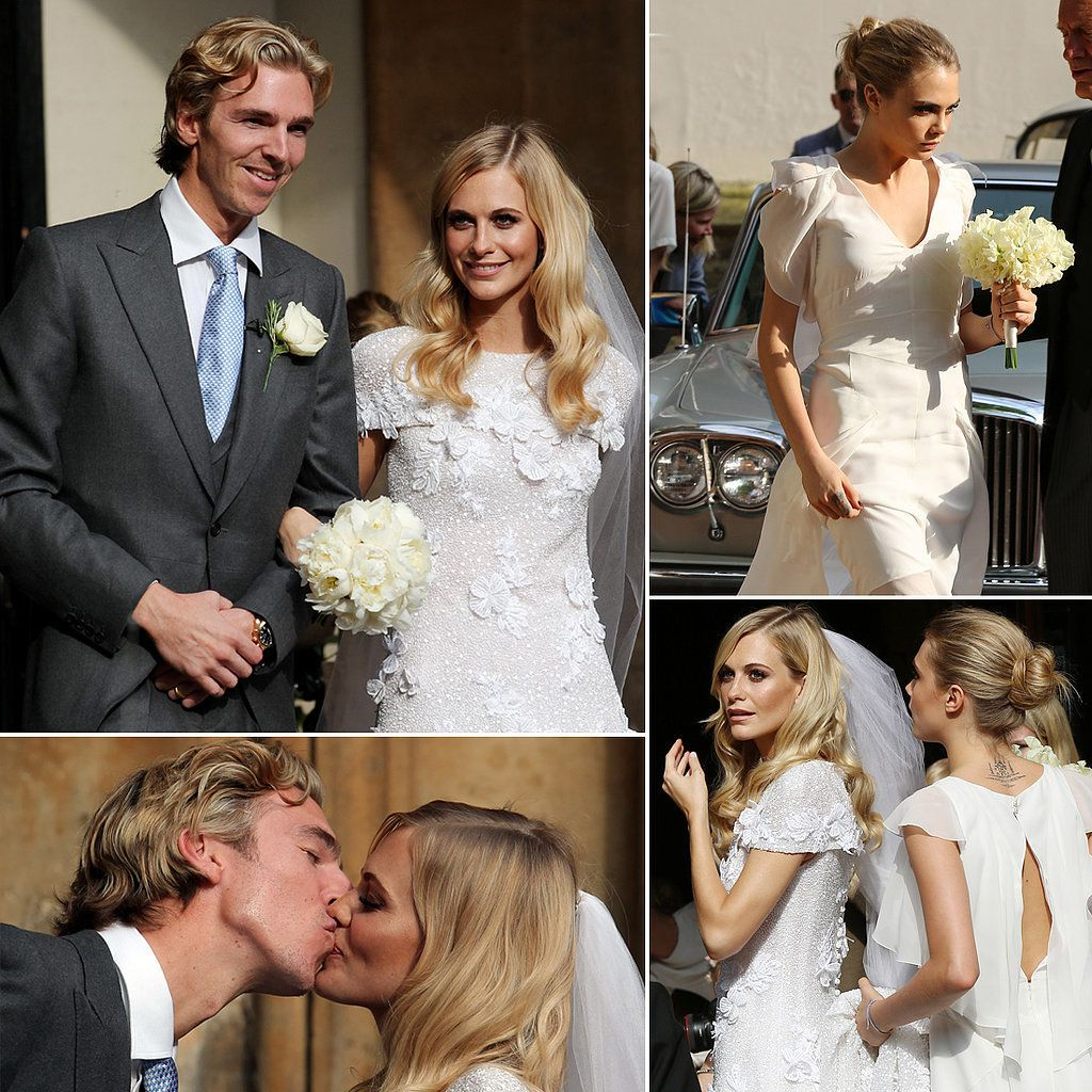 Poppy Delevingne Is Married — See Her Stunning Wedding Photos ...