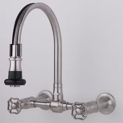 Prep Sink Pull Out Faucet Wall Mounted Jaclo Symmons Bar Faucets