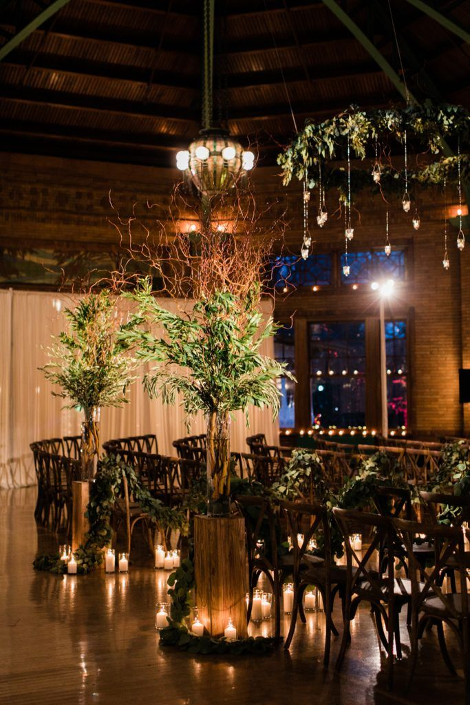 Winter Cafe Brauer Wedding Annie & Ryan Candlelit