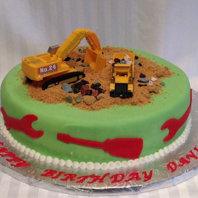 Fantastic Tonka Trucks Cake Smash Cake Truck Cakes Cake Funny Birthday Cards Online Necthendildamsfinfo