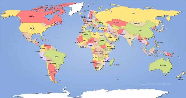 world map with continents and cities best of political world map world map continents countries and save political world maps best map th madriver