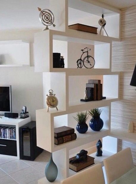 Estante Divisória SHELVES In 48 Pinterest Home Decor Room Mesmerizing Divider Living Room