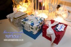 Persephone's Papercraft | Stampin' Up! UK Demonstrator: Lidded Box with Permanent Ribbon