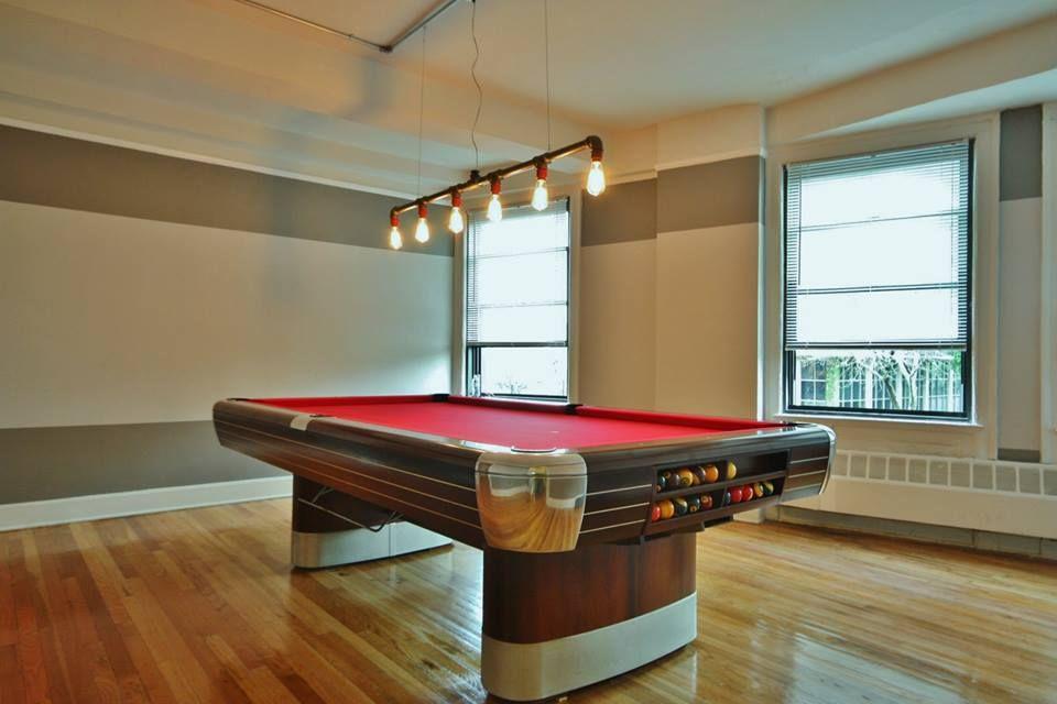 Fully Restored Brunswick Anniversary Pool Table. Oversized 8u0027 Pro, New  Brunswick Superspeed Cushions, Polished Aluminum Castings, Simonis 860  Cloth And ...