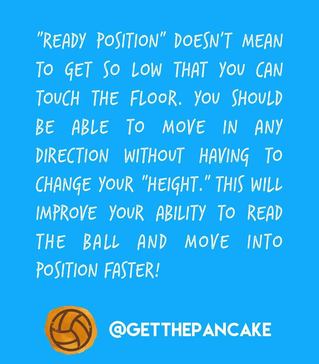 Ready Position In Volleyball Coaching Volleyball Volleyball Drills Volleyball