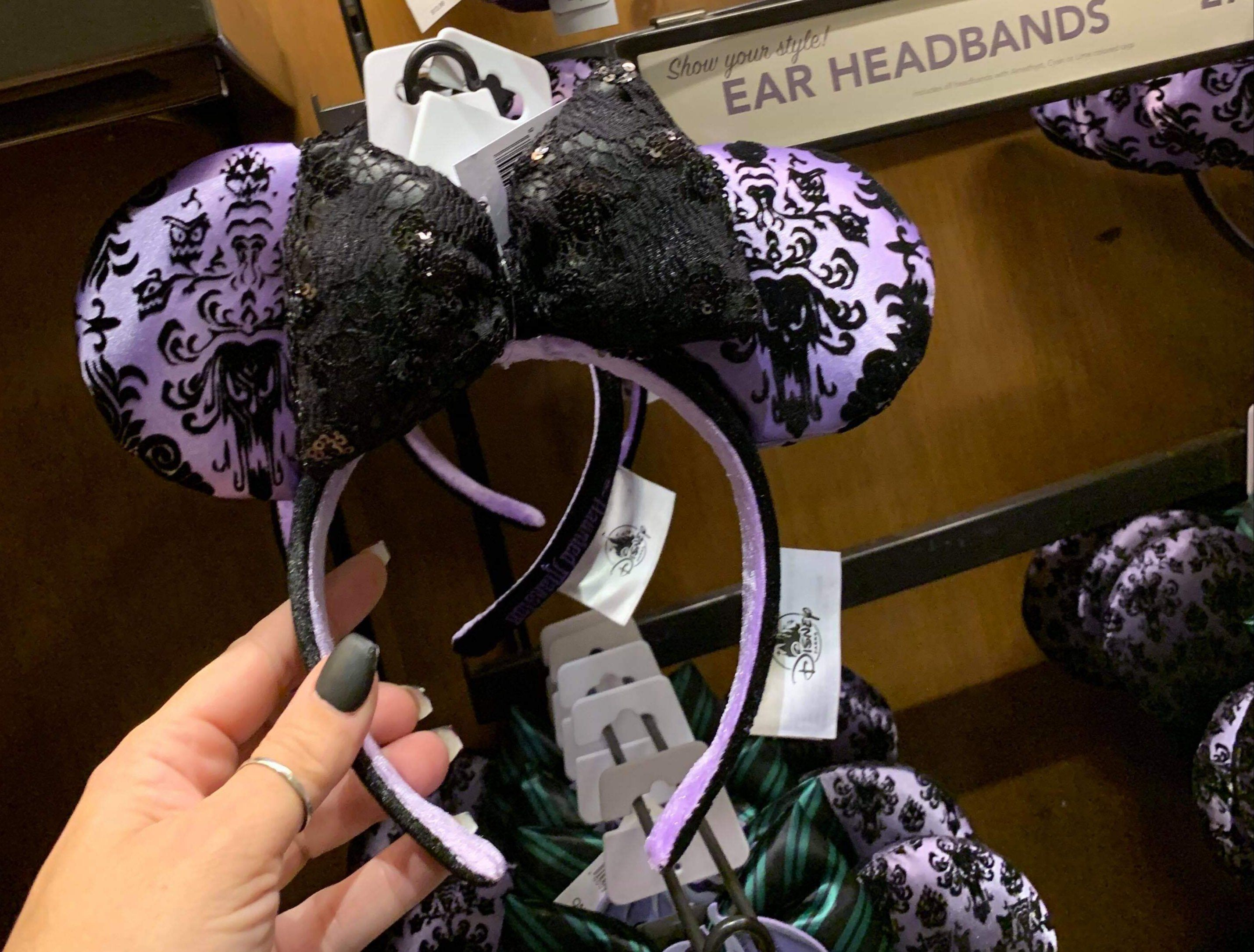 Haunted Mansion Wallpaper Ears Materialize At Disney World