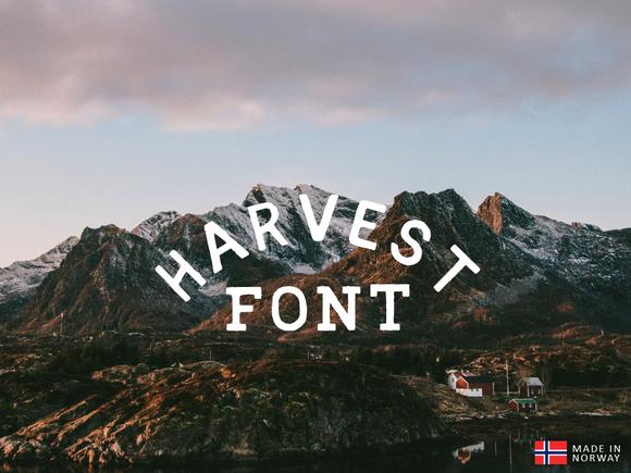 Harvest Font Vintage Fonts Vintage Fonts Free Fonts