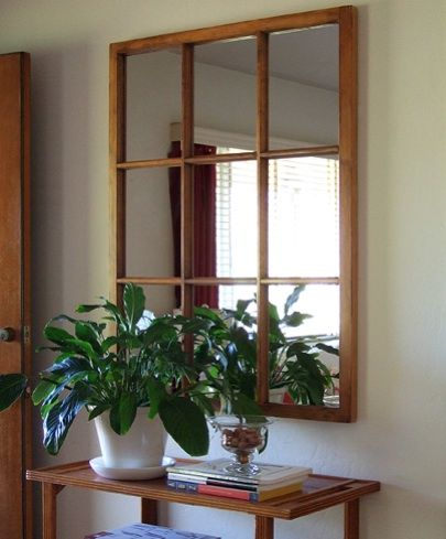 5 Things To Do With Old Windows Diy Window Frame Window Frame Mirror Old Window Frame