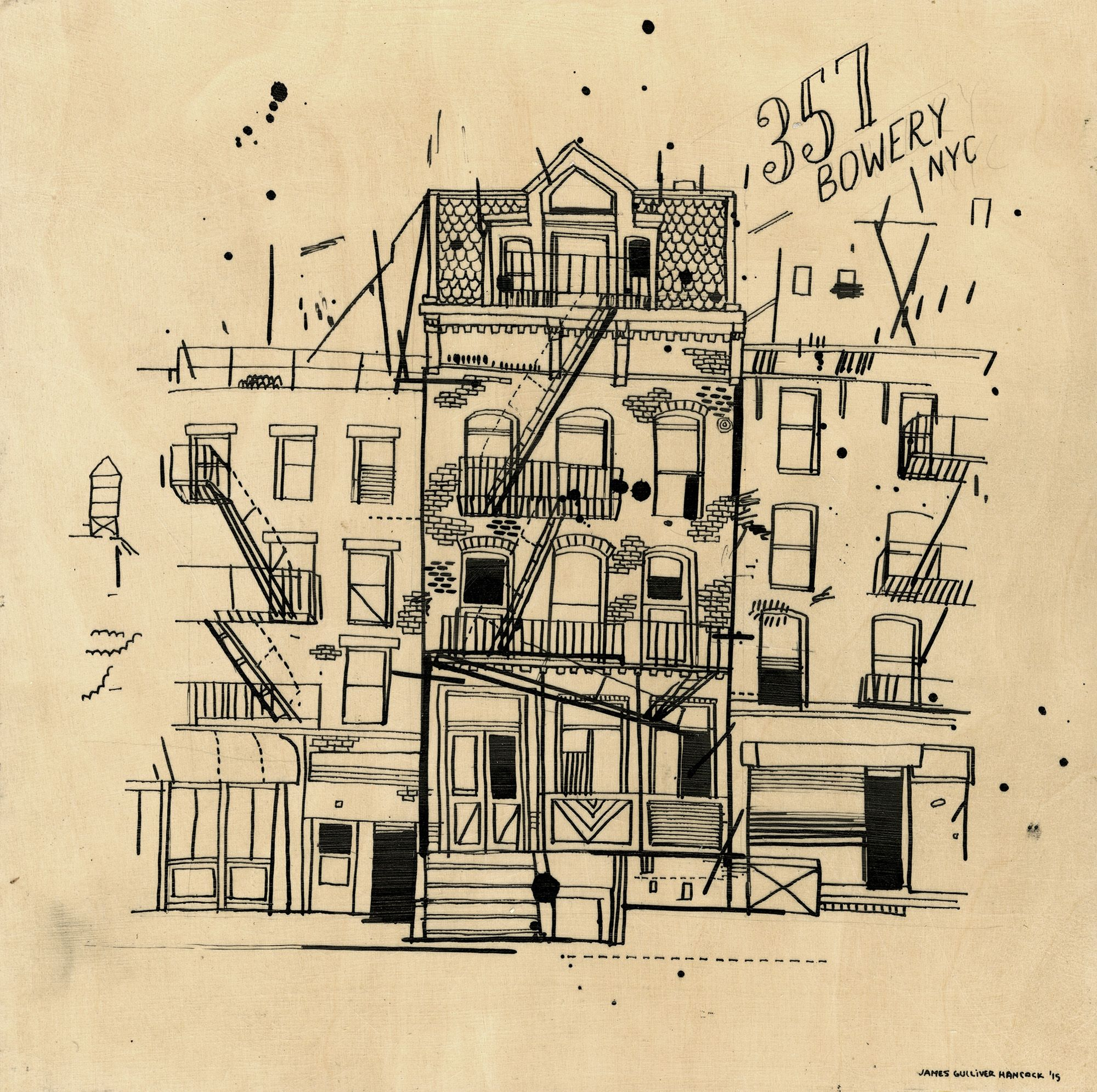 allthebuildingsinnewyork Architecture drawing