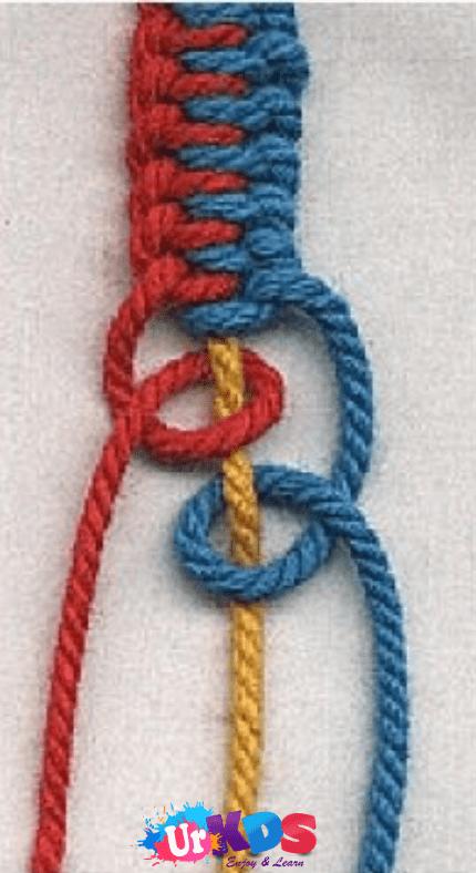 How To Make a Friendship Bracelet - Your kids #friendshipbracelets
