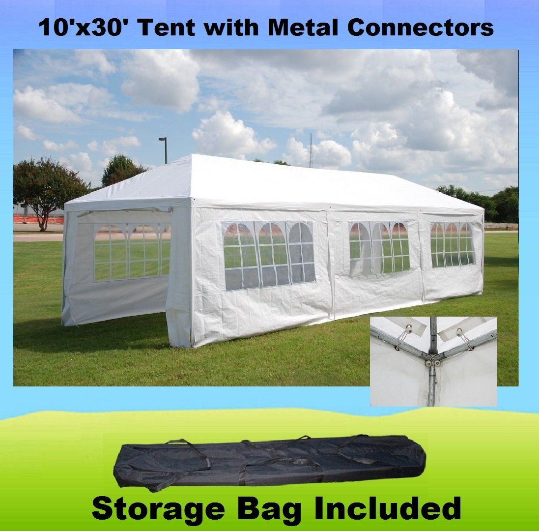 10x30 With Metal Connectors Wedding Party Tent Gazebo Canopy Wdmt1030 Check Out The Image By Visiting The Link This Is An A Gazebo Canopy Party Tent Tent