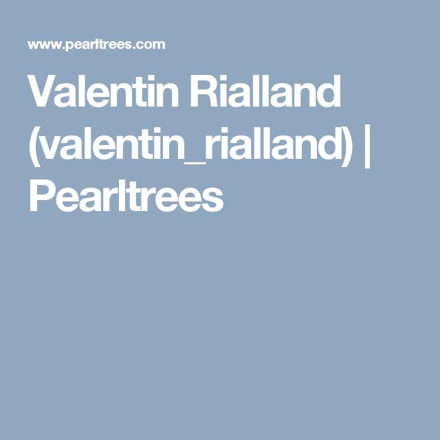 Valentin Rialland (valentin_rialland)   Pearltrees