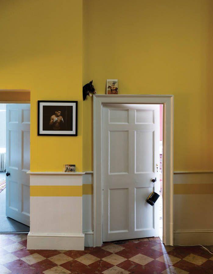Peindre son couloir en couleur, l'astuce déco parfaite pour looker son intérieur - Elle ...