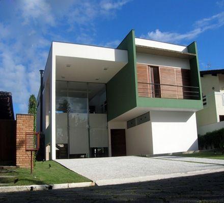 Construcci n de una casa de formas cubicas y fachadas - Construccion de casas modernas ...