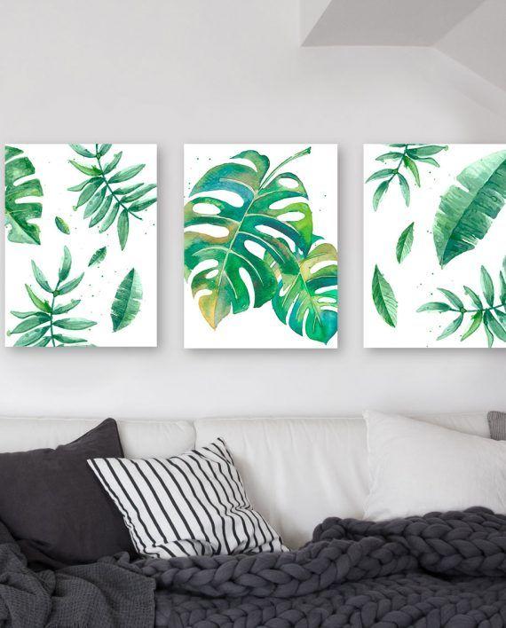 Cuadro moderno decorativo triptico cuadros pinterest - Nordicos modernos ...