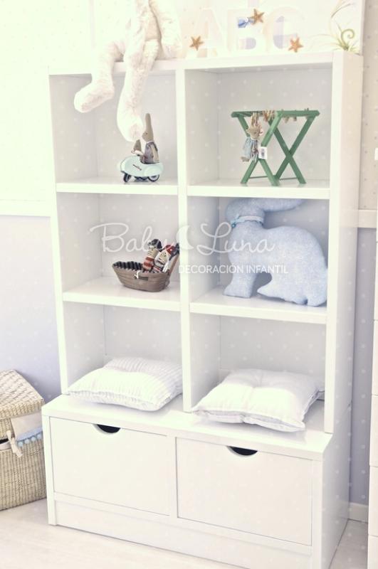 Habitaci n luna baby luna muebles para el cuarto de tu beb 4 baby pinterest baby - Muebles para habitacion de bebe ...