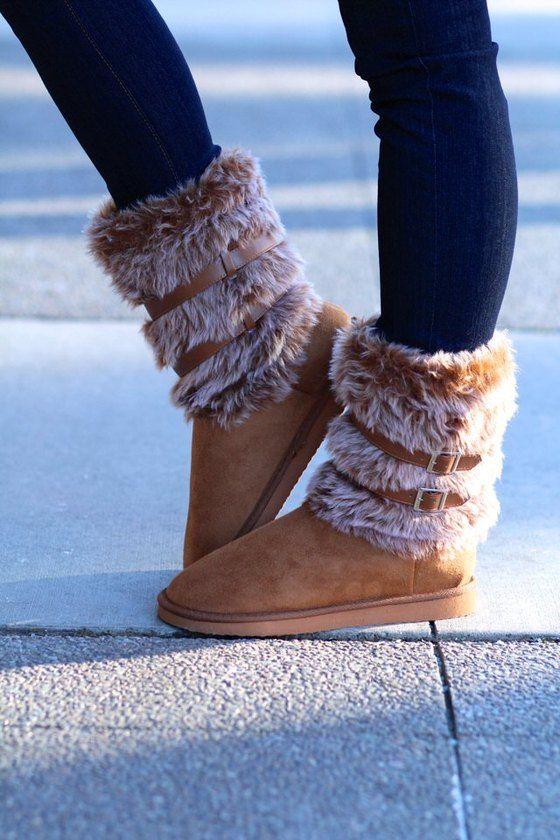 Fur Real Eskimo Boots Boots Shoes Nanamacs Boutique