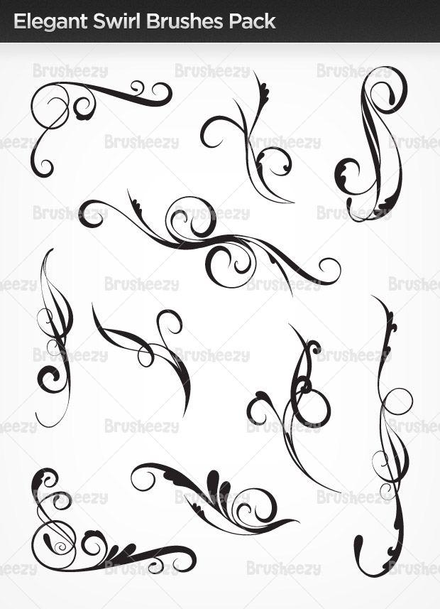 elegant-swirl-brushes