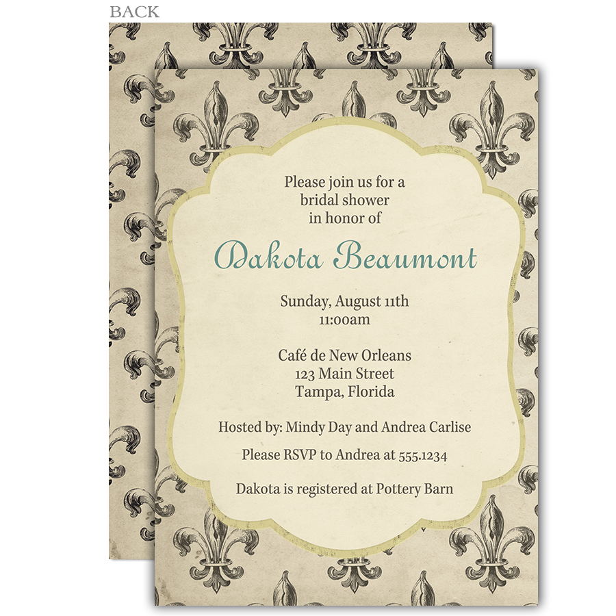 Invite Guests To Your Bridal Shower With This Vintage New