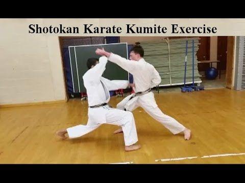 Shotokan Karate Kumite Exercise 3 Gyaku Zuki 3 Simultaneous Block And Punch Counters Shotokan Karate Shotokan Kumite
