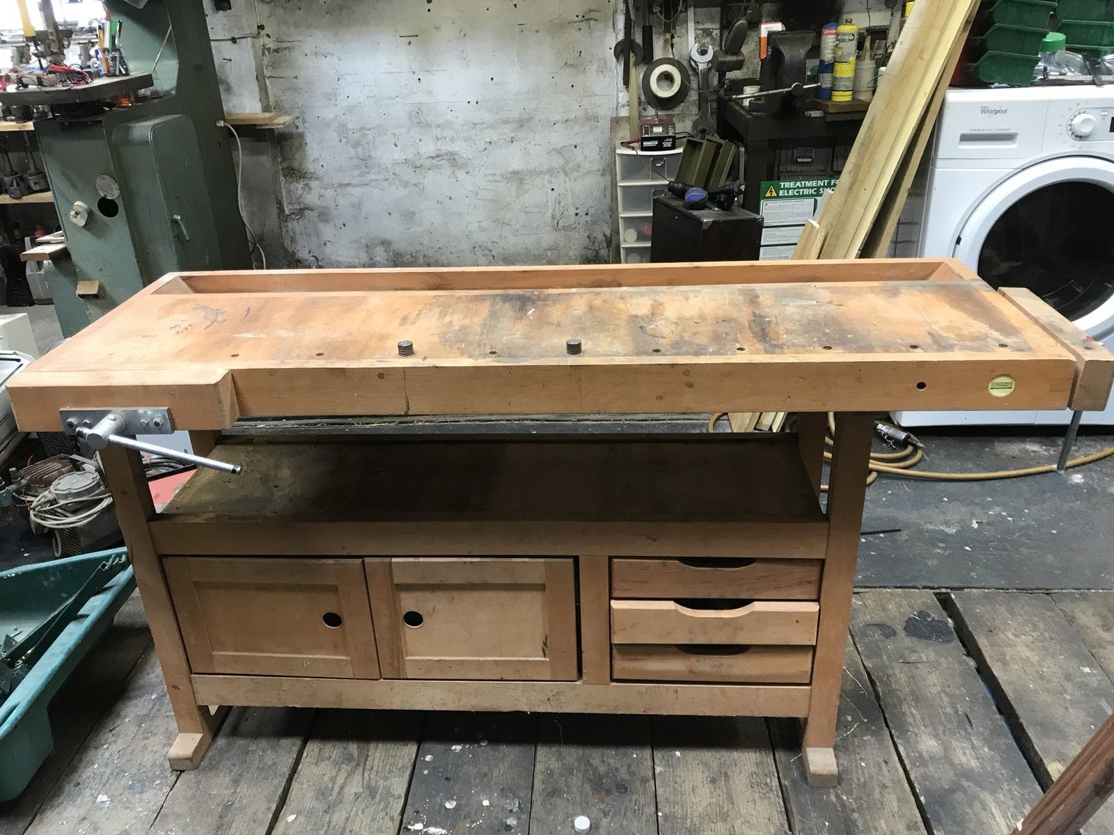 Pleasant Solid Wood Work Bench Ebay Archery Bench Solid Wood Wood Pabps2019 Chair Design Images Pabps2019Com