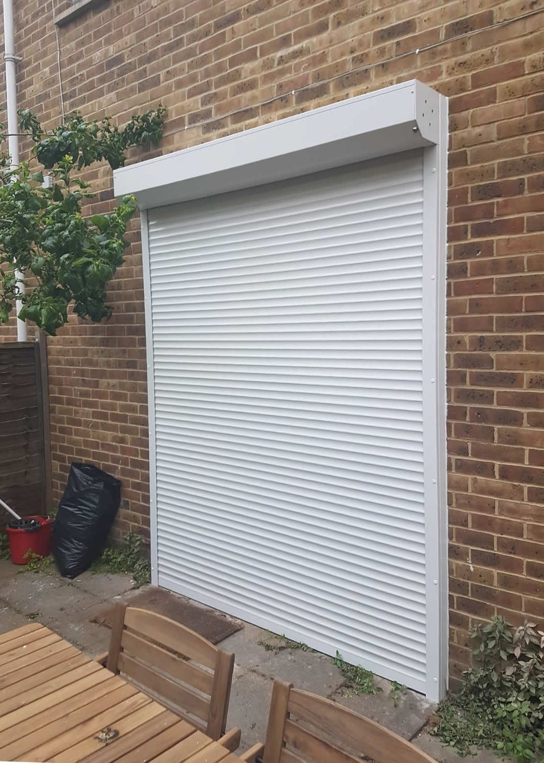Our Rsg5100 Continental Roller Shutter Protecting Family Home In