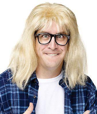 9e462e911cbc6 Wig Garth SNL Saturday Night Live Wayne s World Costume Wig