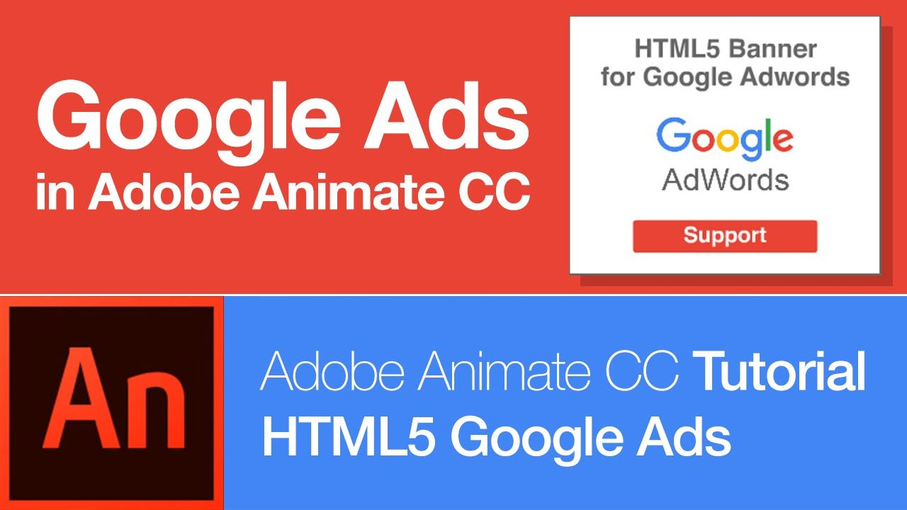 Animate cc create html5 banner for google adwords free download animate cc tutorial create a banner ad baditri Images