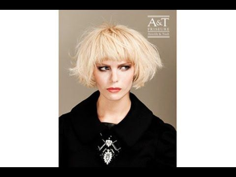 A&T Video Hair Tutorial YouTube – Merci Coco #Bob Frisur #Kurzhaarfrisuren #Pixie cut