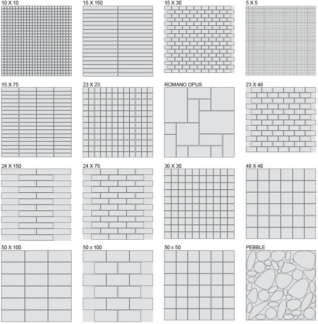floor tile patterns | Porsha Stone - purchase stone floors online ...