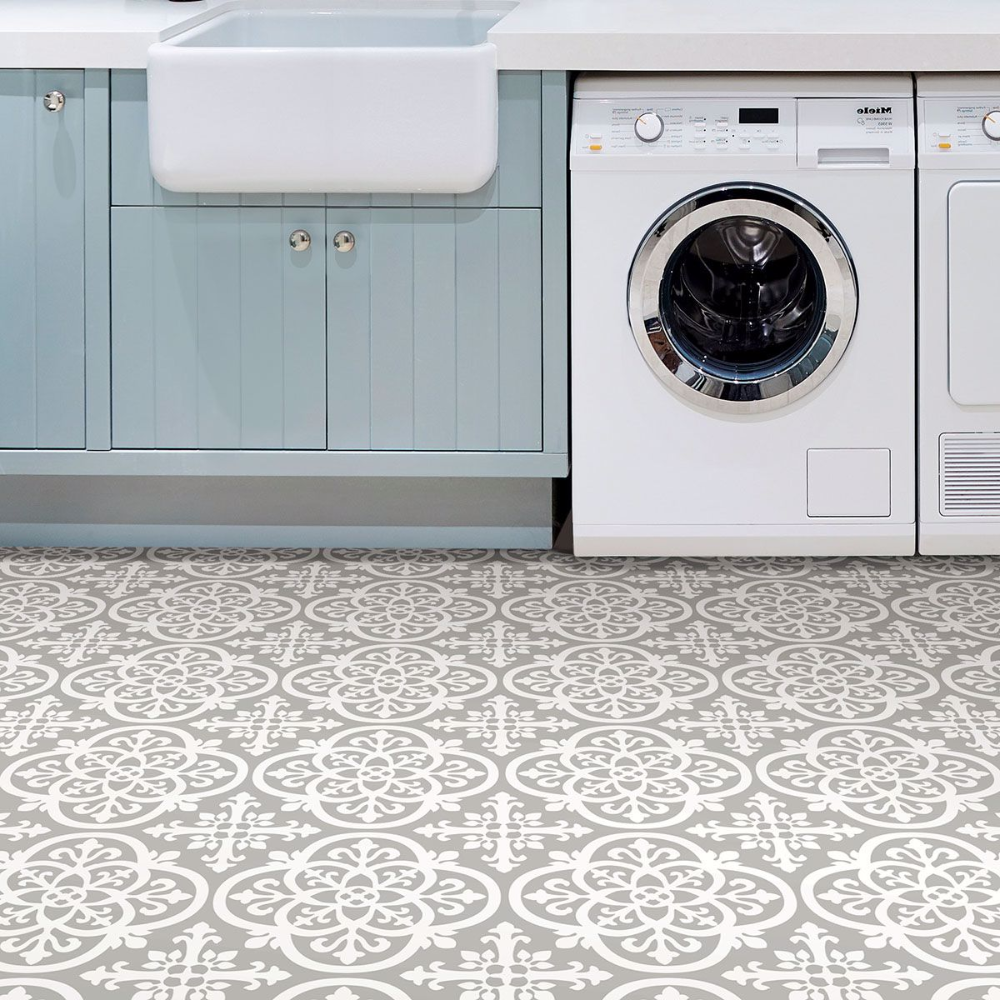 How To Install Peel And Stick Floor Tile For 100 In 2020 Peel