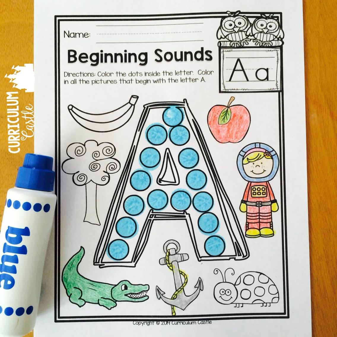 Alphabet Letters A to Z {Practice & Play} Alphabet