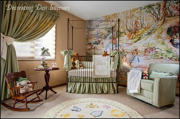 Beatrix Potter Nursery Decor Themed