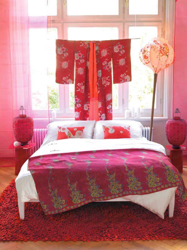 Moderner Asia-Look | Alles rund um Wunderweib | Schlafzimmer ideen ...