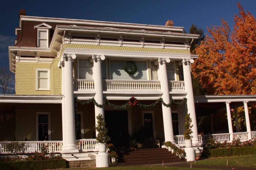 One of Napa's finest B's Churchill Manor The Napa Wine