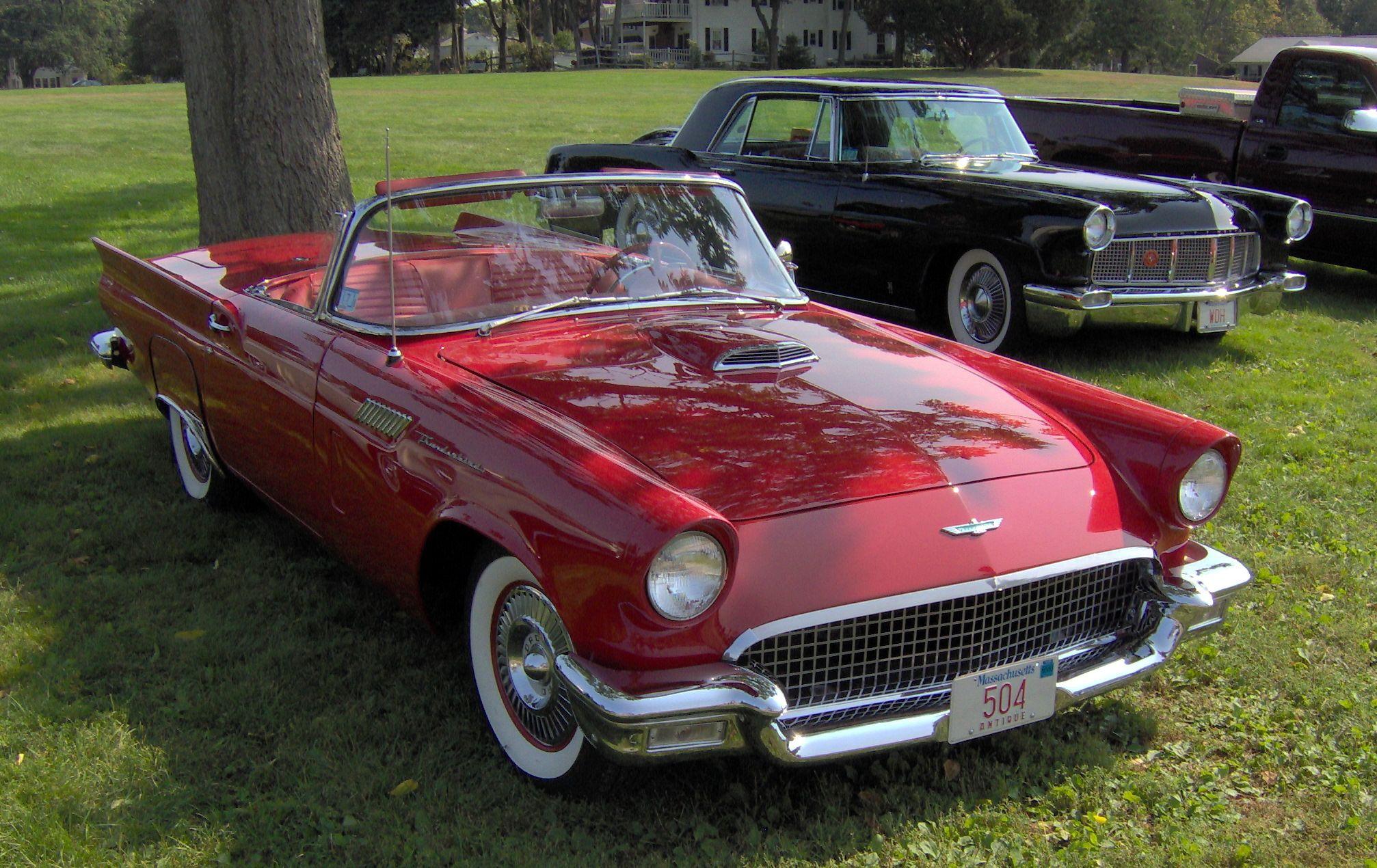 The Elegant 1957 Ford Thunderbird