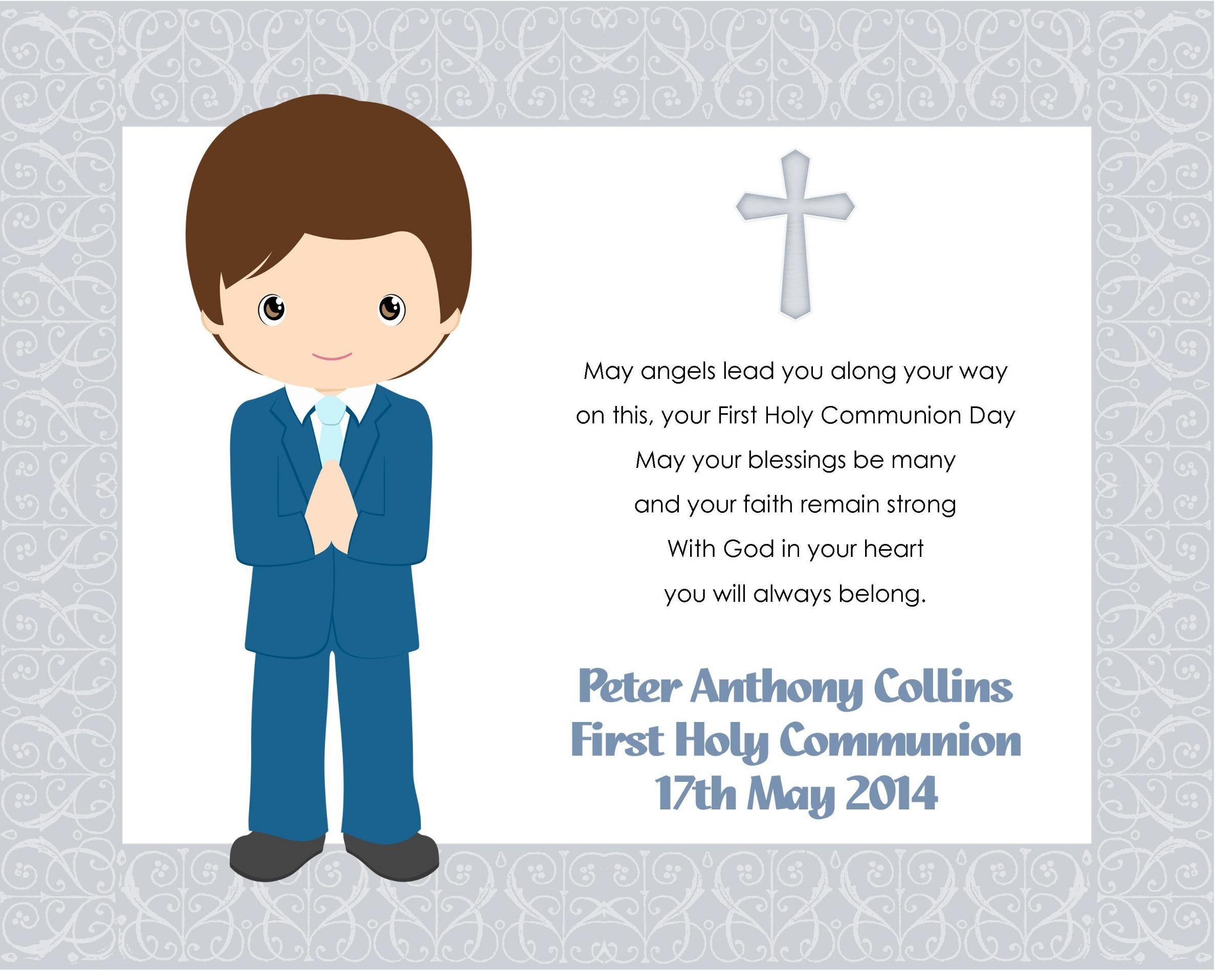 first holy communion boy - Buscar con Google