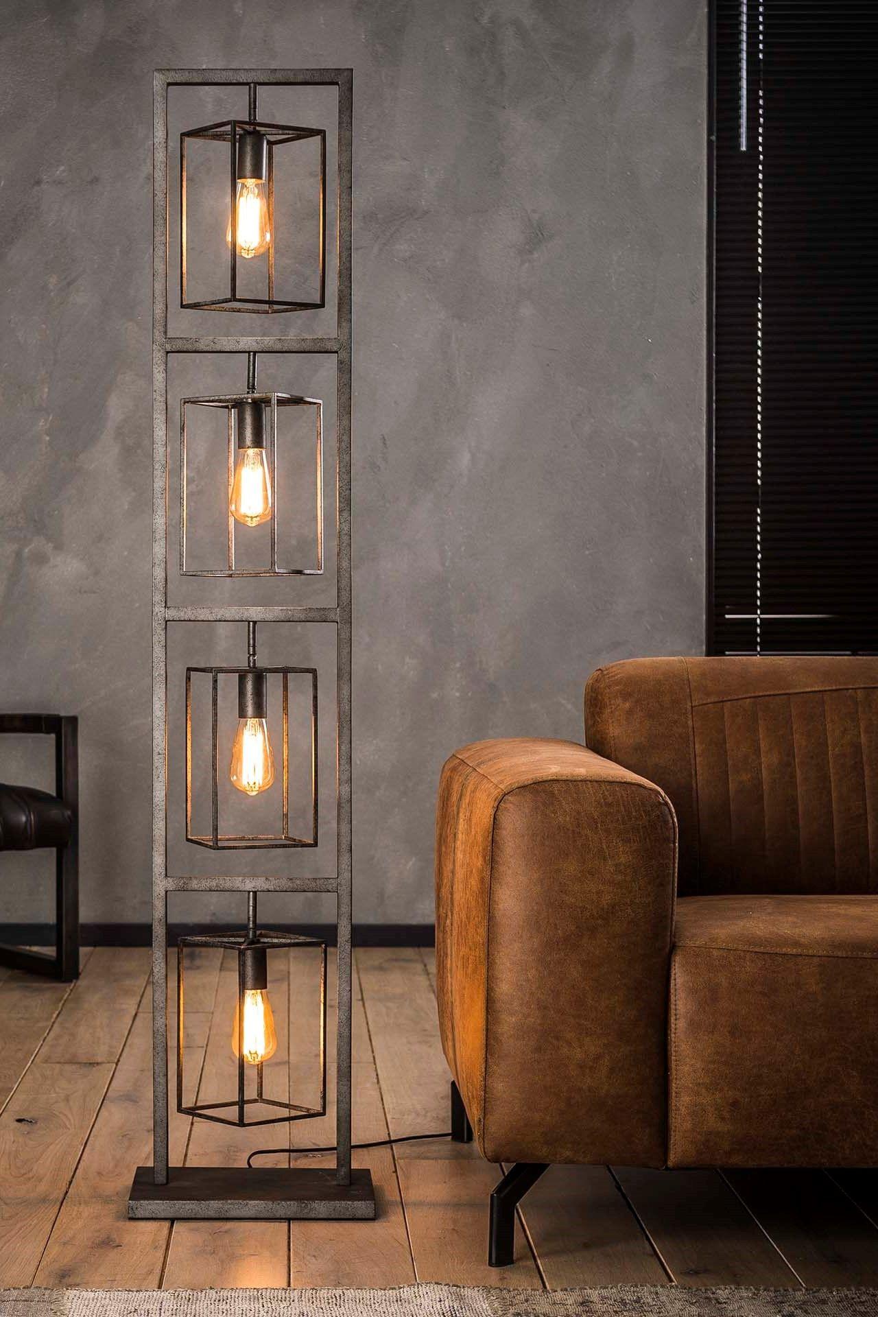 Stehlampe Kube  Stehlampe wohnzimmer, Beleuchtungsideen, Stehlampe